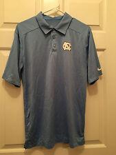University of North Carolina UNC Tar Heels Men's Nike Dri-Fit Polo Shirt Small