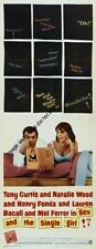 Sex And The Single Girl Insert Movie Poster 14x36 Replica