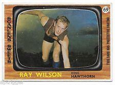 1967 Scanlens (69) Ray WILSON Hawthorn ::