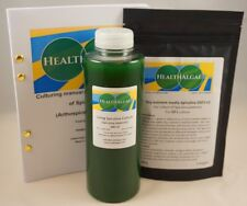 Live Spirulina platensis (500 ml) + 10 L dry grow medium SSD1+2  starter culture