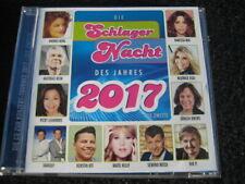 CD  Die SCHLAGERNACHT des Jahres  2017  DIE ZWEITE  Neuwertig  22 Tracks