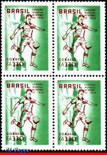 887-Q BRAZIL 1958 1959 WORLD CUP, BRAZIL CHAMPION, SOCCER FOOTBALL, BLOCK MNH