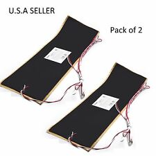 "Facon 2Pcs 7 1/4""x25"" RV Water Holding Tank Heater Pad With Automatic Thermostat"