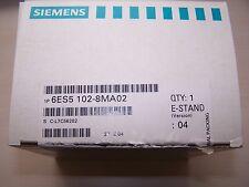 Siemens Simatic S5-100U CPU 102 / 6ES5 102-8MA02 / 6ES5102-8MA02