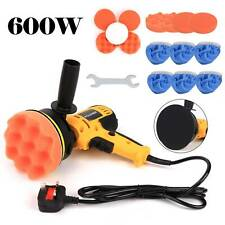 "5"" 600W Car Polisher Kit Sander Buffer Polishing Machine DIY Waxer & Clay Mitt"