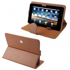 Custodia in Ecopelle Marrone Scuro Universale per Tablet 8'' Pollici (9816)