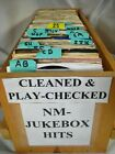 JUKEBOX NM- 45 rpm vinyl records pop 70s/80s Rock you select CLEANED & PLAYS.