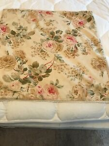 "Ralph Lauren WOODSTOCK ROSEBUD Pillow Case 20""20"
