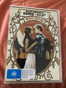 Romeo And Juliet (DVD Region 4) Music Edition - Claire Danes, Leonardo DiCaprio