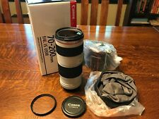 MINT Canon EF 70-200mm f/4 L IS USM Lens FREE SHIPPING!!