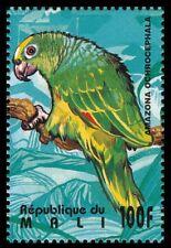 Yellow-crowned Amazon, Parrots, Birds, Mali 1995 MNH - U73