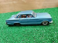 VINTAGE 1963 PLYMOUTH VALIANT BY BANDAI OF JAPAN TIN FRICTION