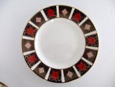 Set of 4, Royal Crown Derby England Old Imari Border Bone China Salad Plates