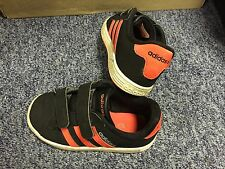 Boys Adidas Velcro Trainers Used In Good Condition