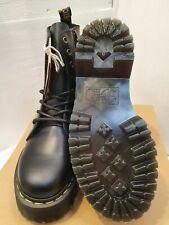Dr Martens Jadon Leather Platform Boots UK 6 EU 39 US 8 Black Unisex