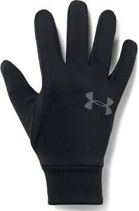 New Under Armour Men's Armour Liner 2.0 Gloves Mens Size Large Black