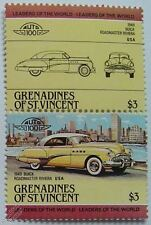 1949 BUICK ROADMASTER RIVIERA Car Stamps (Leaders of the World / Auto 100)