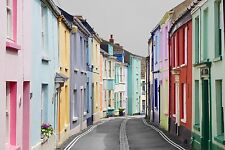 Original Canvas, Irsha Street, Appledore, Devon, Wall Art Print, Ready To Hang
