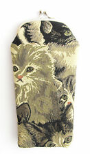 Tapestry Cats & Kittens Glasses pouch Signare