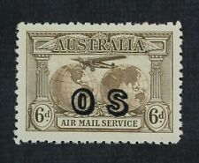 Ckstamps: Gb Australia Stamps Collection Scott#Co1 Mint H Og Tiny Thin
