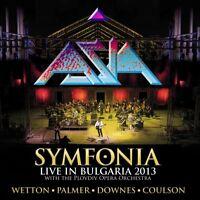 ASIA - SYMFONIA-LIVE IN BULGARIA 2013 (COLOURED VINYL)  2 VINYL LP NEU