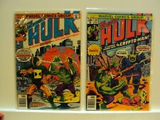 Incredible Hulk 204 - 207 run. Lot of 4 VG to VF.  Mid to High Grade