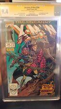X-Men #266 CGC 9.4 SS x 2 WHITE **1st Gambit** SIGNED BY CLAREMONT & RUBINSTEIN!