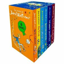 The World of David Walliams by David Walliams (Paperback, Pack of 6 Books, 2016)