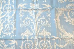 NEW SPOONFLOWER QUEEN BLUE WHITE TOILE 100% COTTON SHEET SET CUSTOM BIRD FLOWERS
