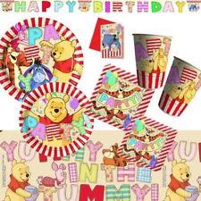 Winnie Pooh Partyset 16 Pers. XL Disney Partydeko Geburtstag Kindergeburtstag