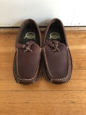 Cabelas Driving Moccasins Brown Size 8.5