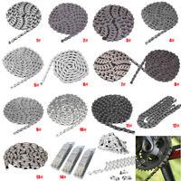 7 8 9 10 Speed 116 Glieder Fahrradkette Quick Connector Mountainbike für MTB
