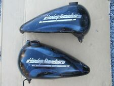 Harley Davidson 1951-1954 Panhead Gas Tanks 60's Custom Old Lacquer Paint Patina