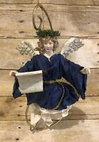 Vintage Clothtique by Possible Dreams Christmas Angel 1988