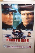 FOURTH WAR Jurgen Prochnow ROY SCHEIDER Tim Reid HOME VIDEO POSTER 1990