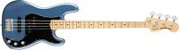 Fender American Performer Precision Bass Maple Fingerboard Satin LakePlacid Blue