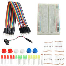 Electronic Starter Kit Mini Breadboard Led Jumper Wire Tested for R3