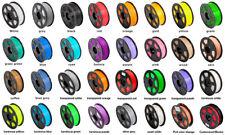 1.75mm PLA Black 3D Printer Filament 1 Kg spool, 2.2 lbs. Multi-Coloured