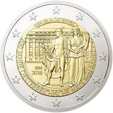 AUSTRIA 2 Euro 2016 S/C 200 años del Banco Nacional Austriaco 1816-2016