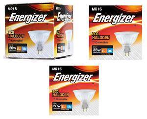 Variety of Energizer Eco Halogen MR16 Spotlight Bulbs (16w / 28w / 40w) - 3000k