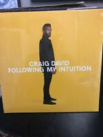 Craig David - Following My Intuition - New Sealed Double Vinyl LP Hip Hop Soul