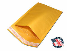 250  Extra Wide #0 7X10 Kraft BUBBLE MAILERS PADDED ENVELOP 6x10