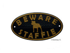 Staffordshire Bull Terrier Signs & Plaques