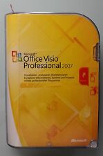 MS Office Visio Professional 2007 Pro Win32 Retail Vollversion Deutsch D87-02789