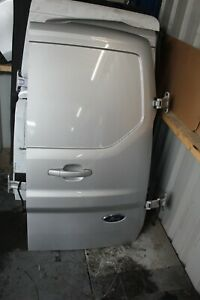 FORD TRANSIT CONNECT 2018-20 OFFSIDE/RIGHT REAR BARE DOOR (SILVER)