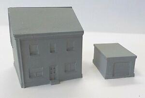 10mm Modern German House with Garage