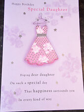 Happy Birthday Daughter Card by Premier Cards. 17 available - Multi Listing.