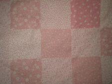 Vintage Gorgeous PINK FLORAL PATCHWORK Fabric (50cm x 50cm)