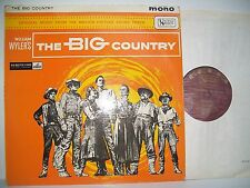"""12"""" VINYL LP.William Wyler's The Big Country Original Motion Picture Soundtrack"""