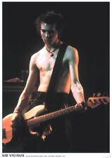 "Sid Vicious in Atlanta 1978, 34"" x 24"" POSTER"